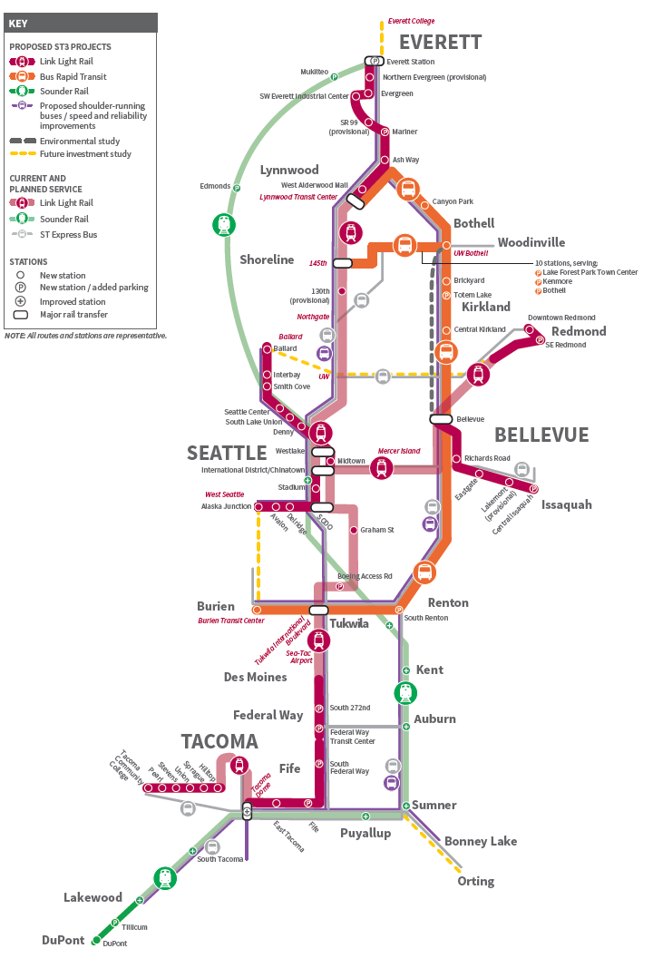 Sf Subway Map Dream.So What S The Problem With Bart Seattle Transit Blog