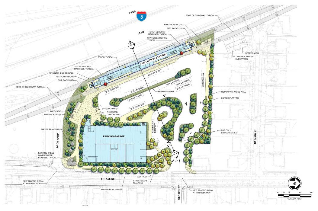 Lynnwood Link Station Design Reaches 30 Percent