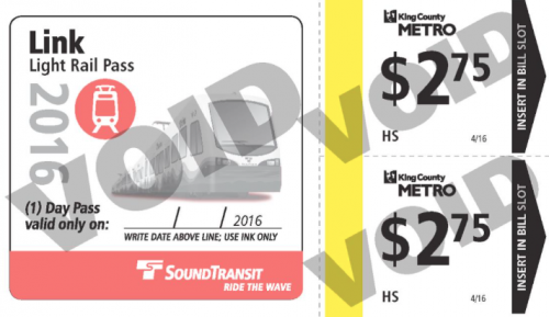 New Metro/Link Combo Ticket