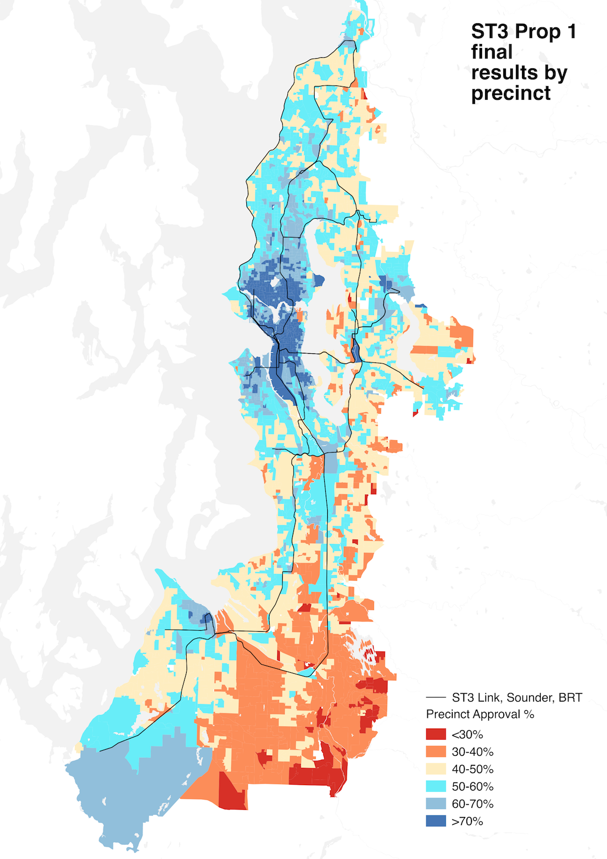ST3 Precinct Map, and More – Seattle Transit Blog