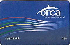 "Low-income ""ORCA LIFT"" card, now honored on all Sound Transit services; or maybe this is a youth ORCA card"