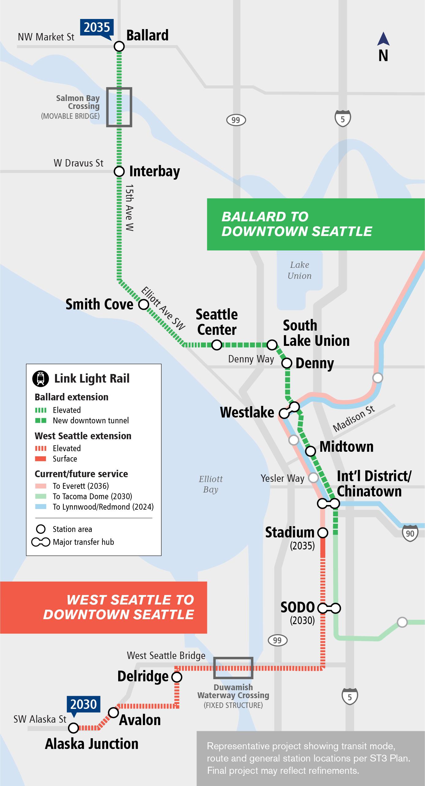West Seattle & Ballard Link Get Green Light – Seattle Transit Blog
