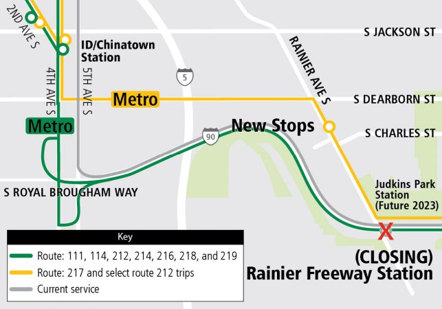 I 90 Bus Routes Changing In September Seattle Transit Blog
