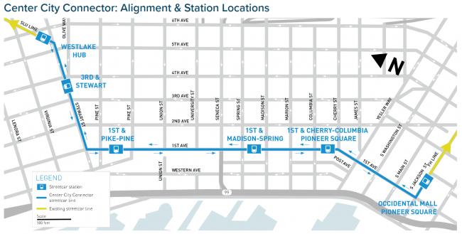Center City Connector Route