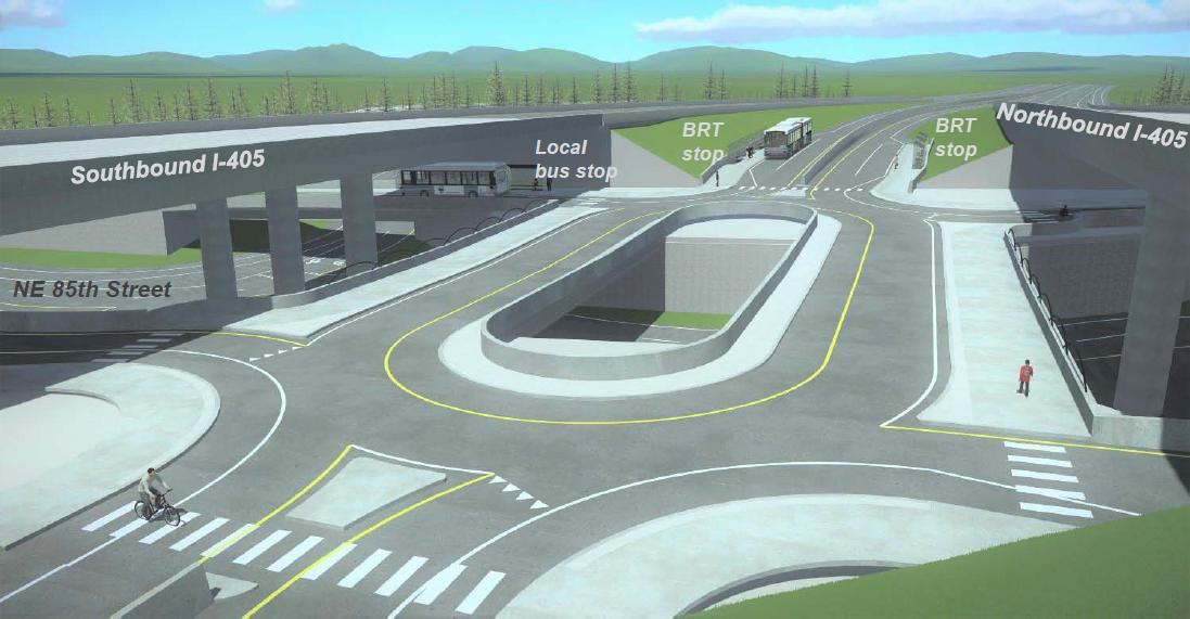 Kirkland's NE 85th BRT station – Seattle Transit Blog