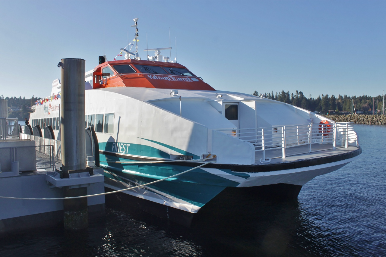 Kitsap Transit Launches Kingston–Seattle Fast Ferry