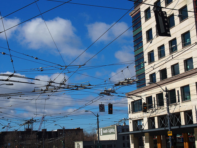 What happens in Chinatown/ID when light rail is under construction?