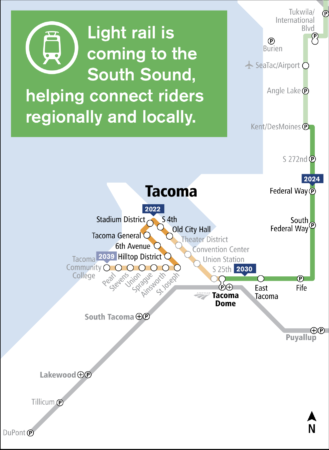 New Alternatives for the Tacoma Dome Link Extension