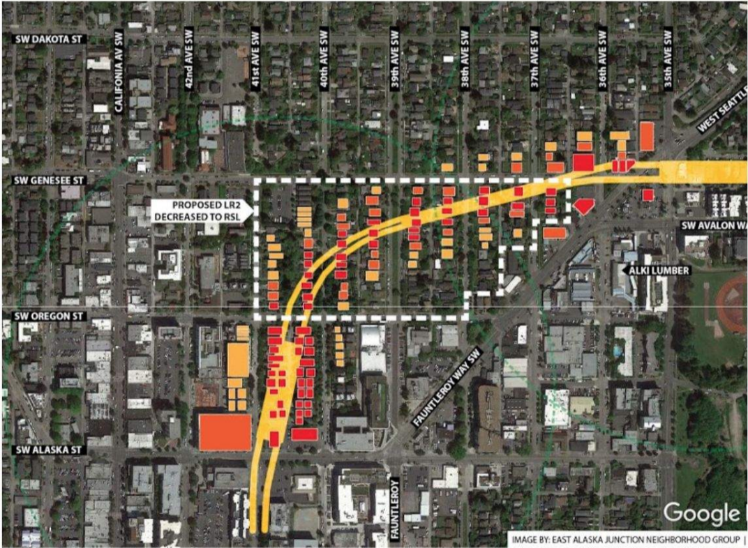 Elevated Light Rail Could Limit Housing Development in West Seattle