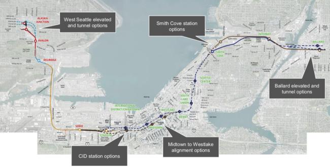 West Seattle – Ballard Link staggers towards the EIS – Seattle
