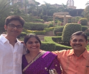 Yash P with parents