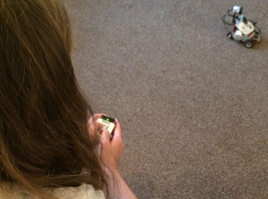 EV3 Lego robot