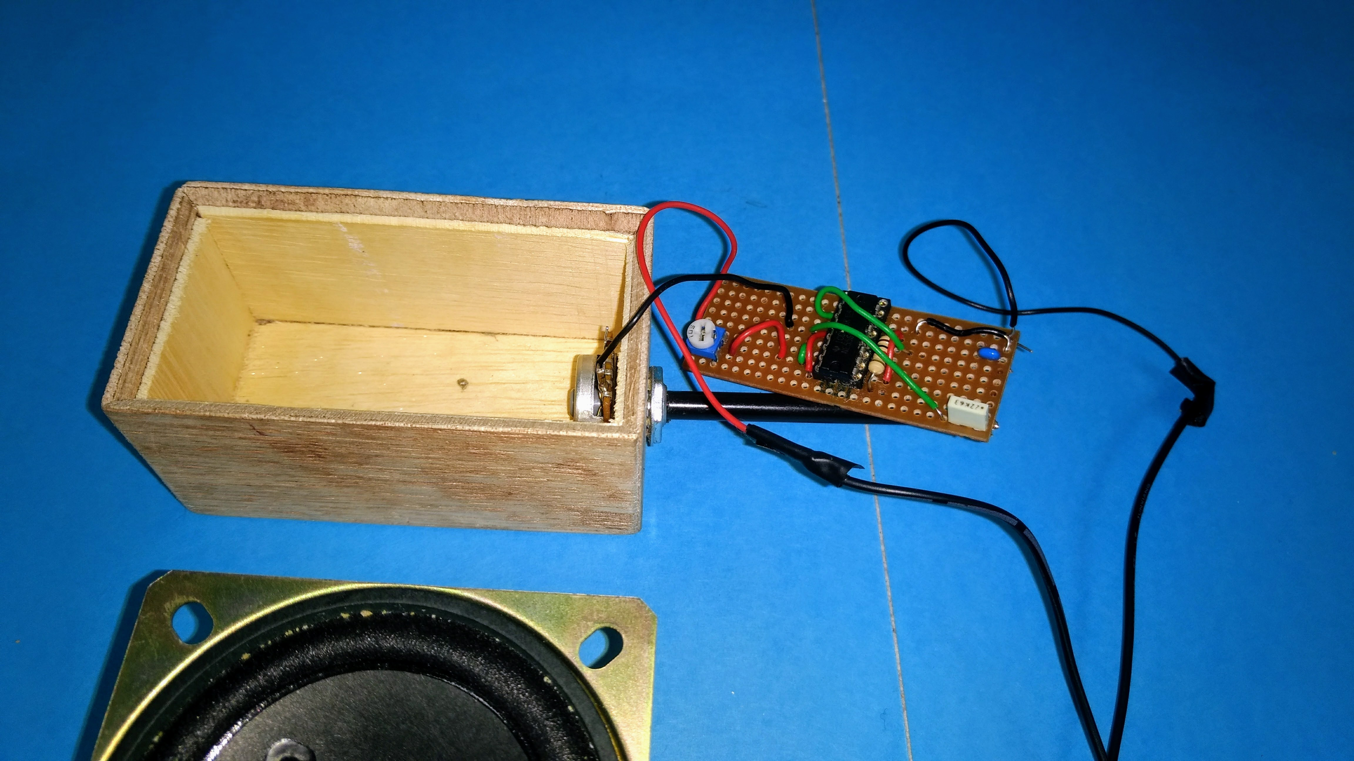 Synthesis With Light Atari Punk Console Forrest Mims Punkpac The Finally Here Are My Perfboard Layouts And Some Pictures I Have Started Process Of Soldering Components To Will Upload More Images Once A Working Synth Inside Box