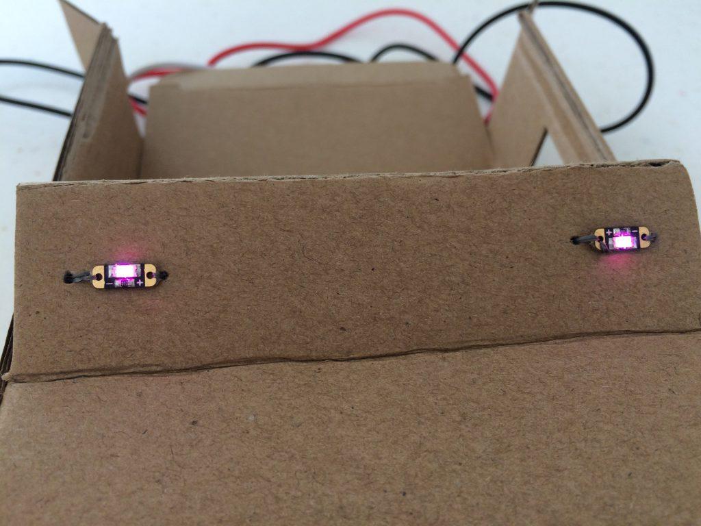 LED sequins