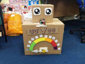 uuVee our UV detection robot