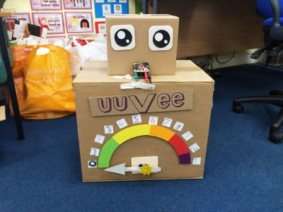 uuVee our UV detection robot