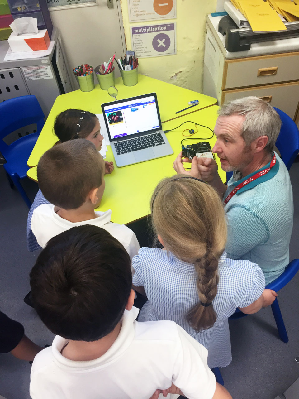 Coding with the BBC Microbit