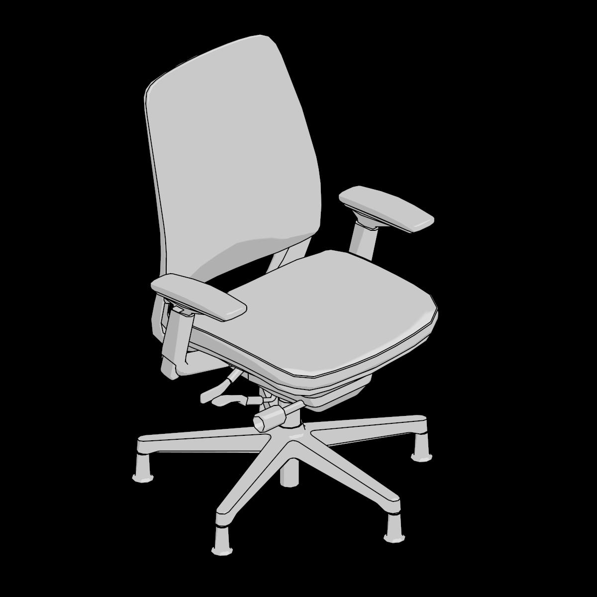 Auto CAD 43D Furniture Model Downloads - Steelcase