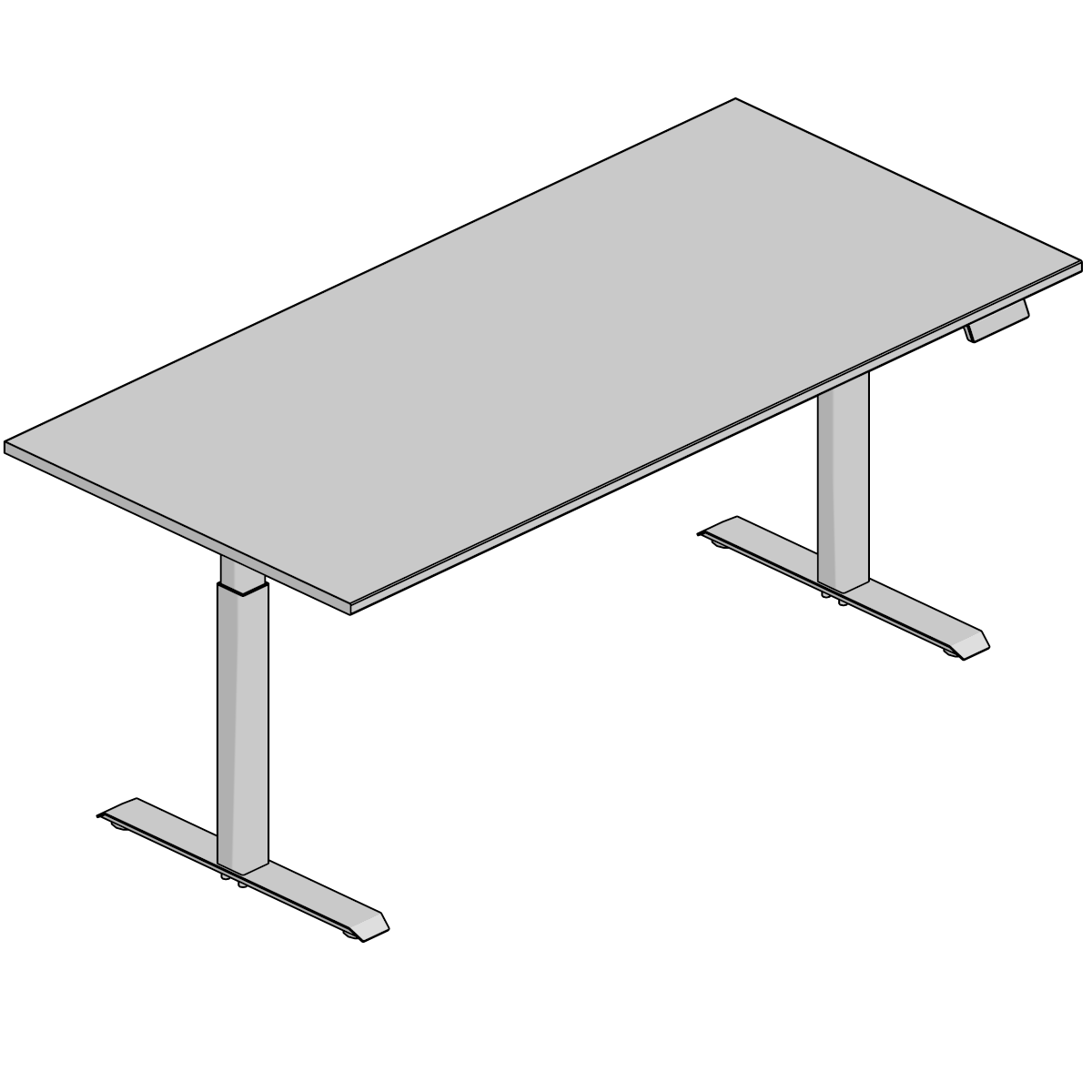D Models Archive Steelcase - Conference room table height