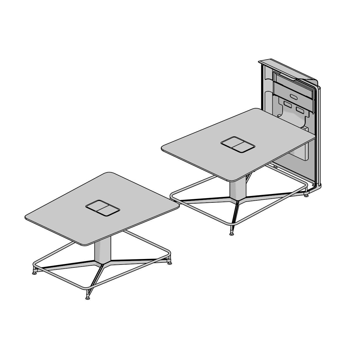 3D Models Archive - Steelcase