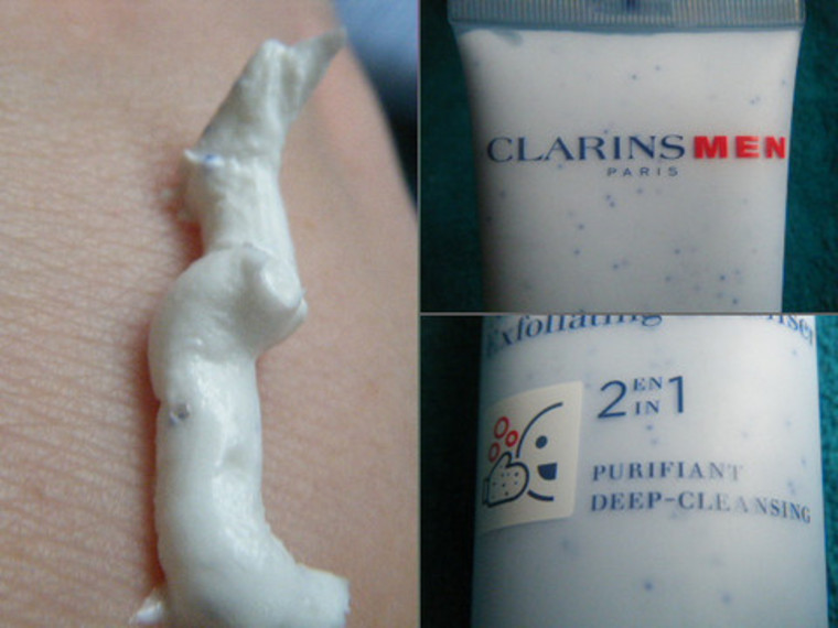 Thumb clarins for mens exfoliator large