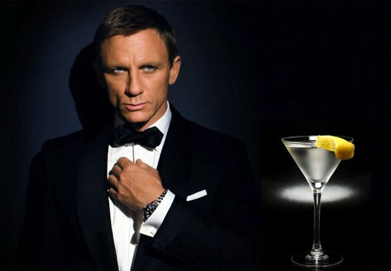 This is the recipe for the VESPER. A drink he names after the main female character. This is NOT the james bond vodka martini. And that's why there's confusion here. This is officially called a