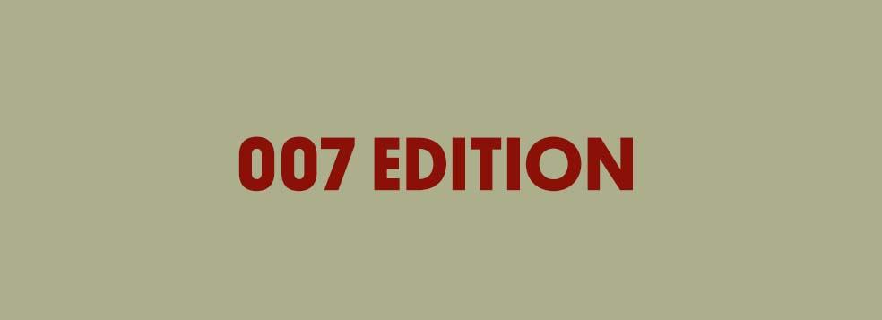 Stefan's Head - 007 Edition - Title