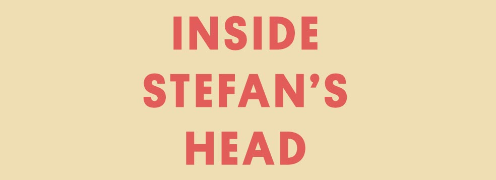 Stefan's Head - Home
