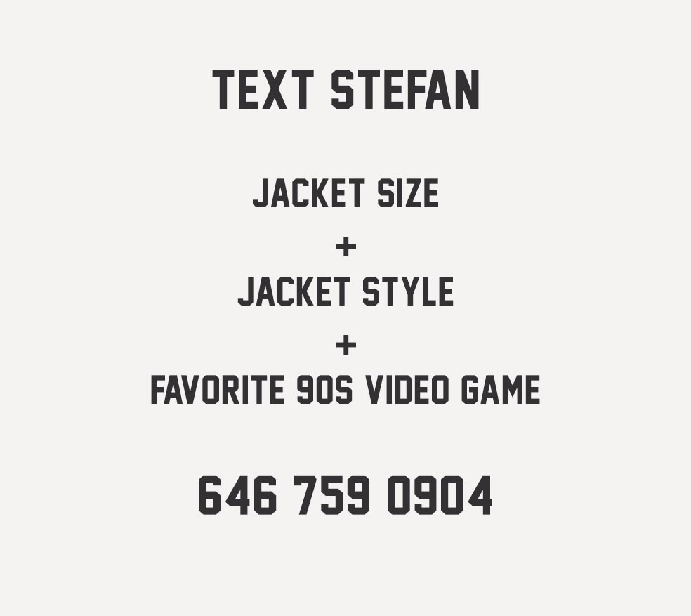 Stefan's Head - Fall Jackets Collection - Instructions