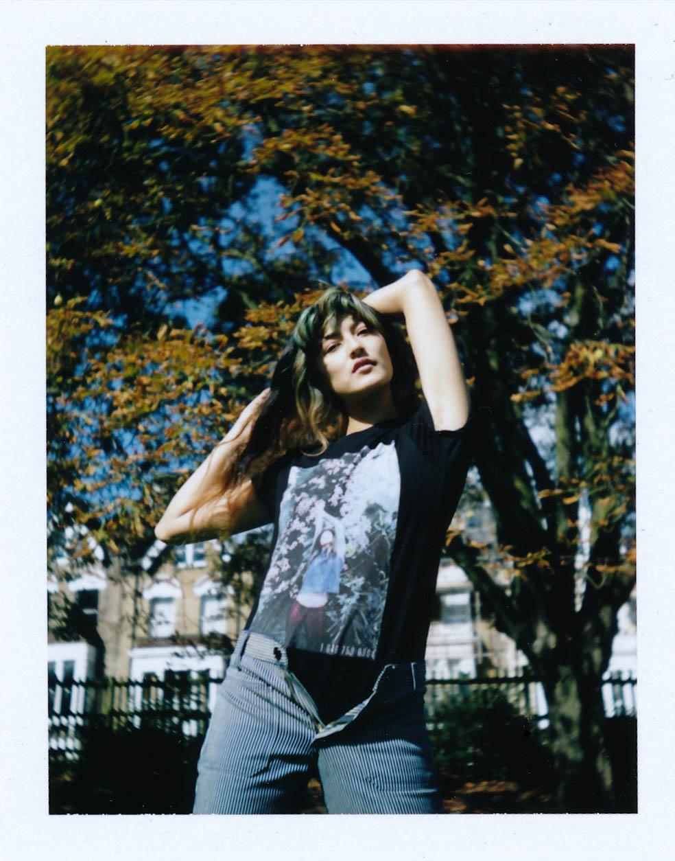 Stefan's Head - Francesca Allen - Polaroids