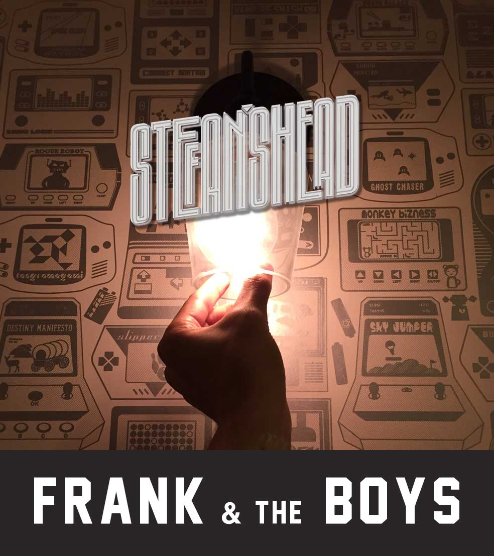 Stefan's Head - Logo - Frank and the Boys
