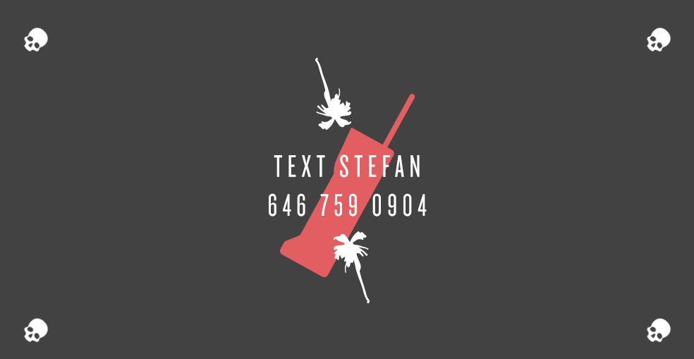 Stefan's Head - Bottom Logo