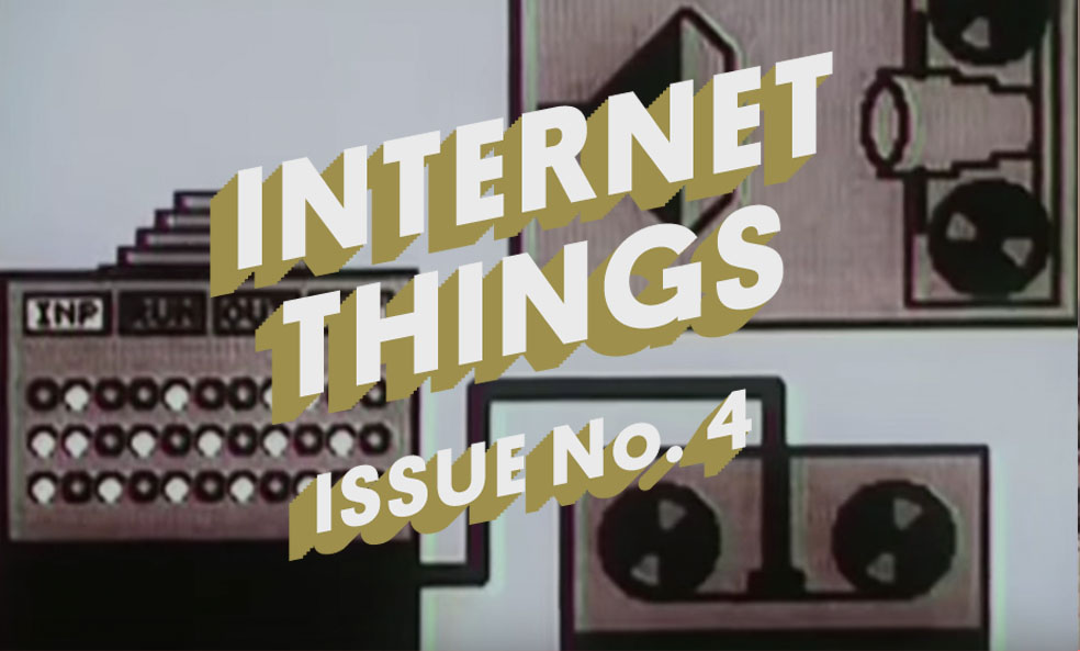 Stefan's Head - Internet Things - Issue 004