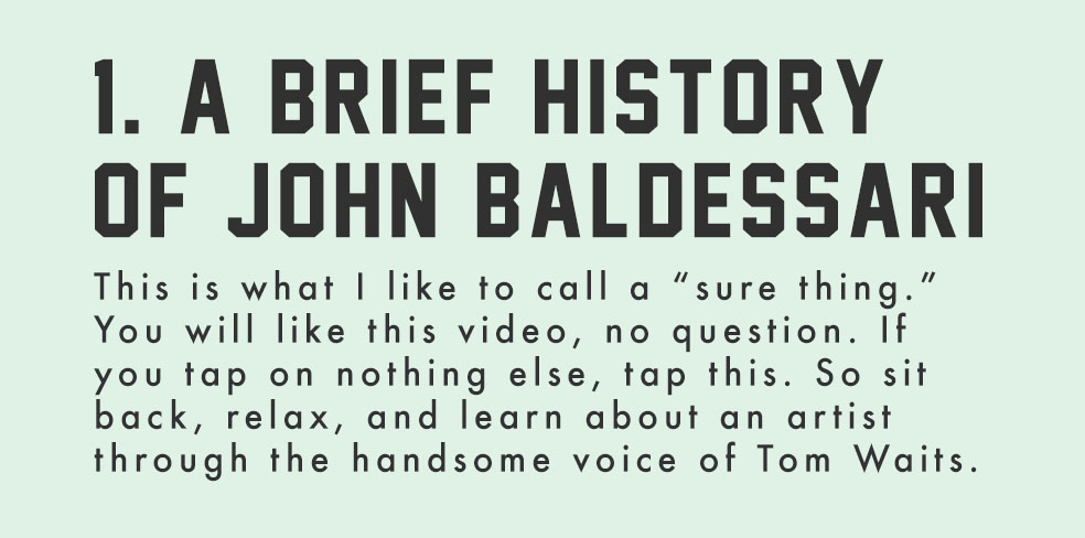 Stefan's Head - John Baldessarri - Internet Things - Issue 002