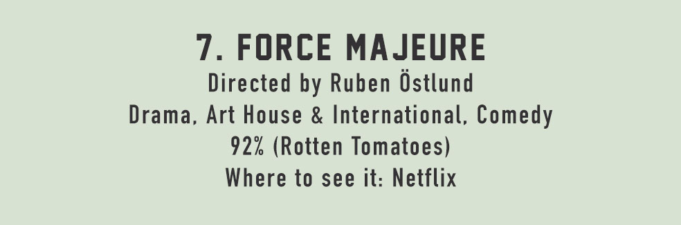 Stefan's Head - At The Movies With Stefan - Force Majeure