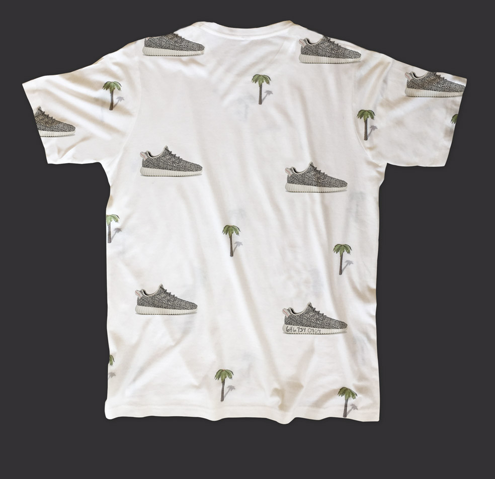 Stefan's Head - Palm Treezys - Shirt Back