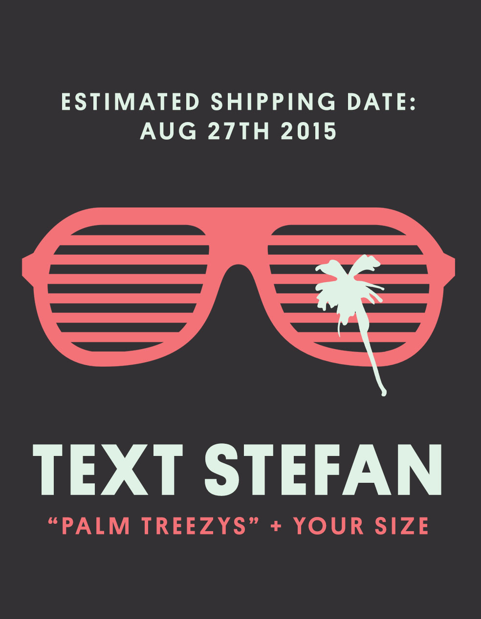 Stefan's Head - Palm Treezys - Kanye Glasses