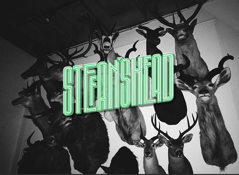 Stefan's Head - Logo - Strapped
