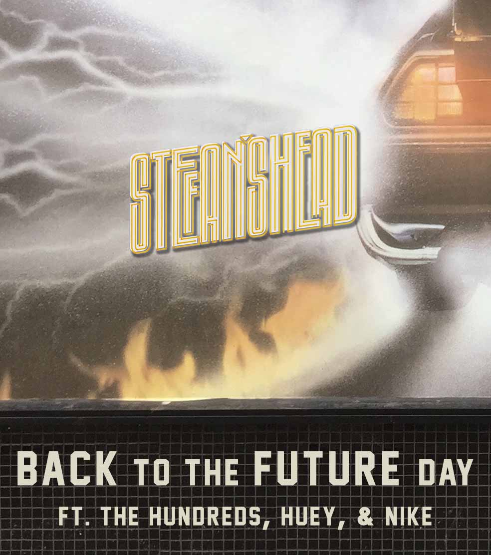 Stefan's Head - Logo - Back to the Future Day