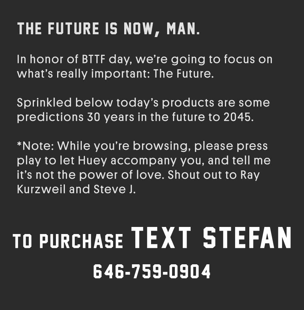 Stefan's Head - Intro - Back to the Future Day