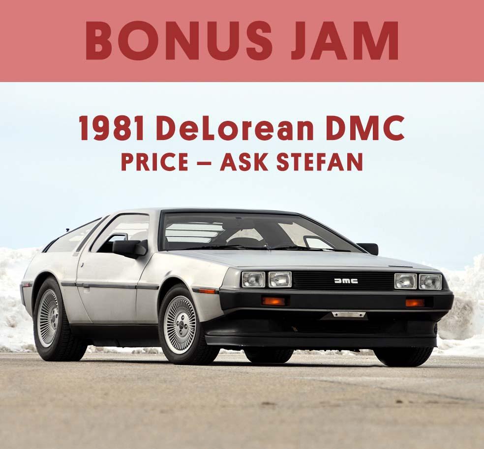 Stefan's Head - Bonus - Hoverboard - Delorean - Back to the Future Day