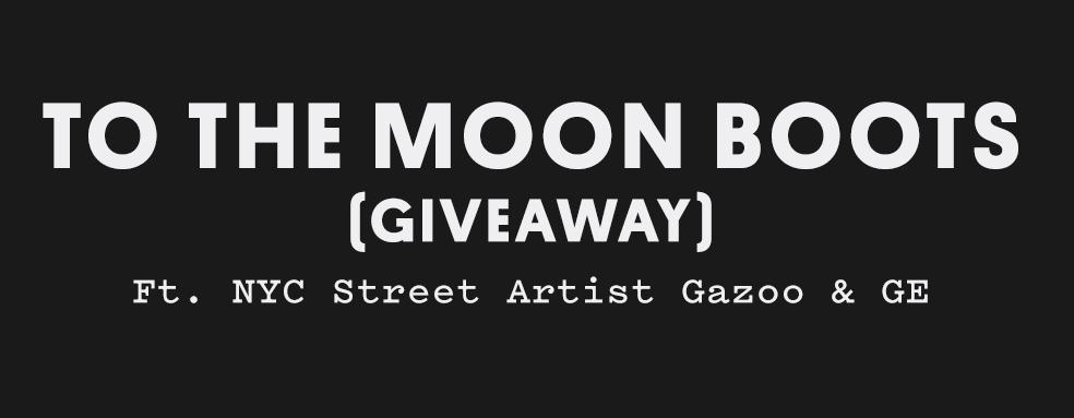 Stefan's Head - GE Moon Boots x Gazoo