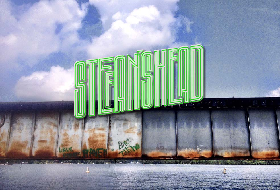 Stefan's Head - Logo - Gone Wharfin'