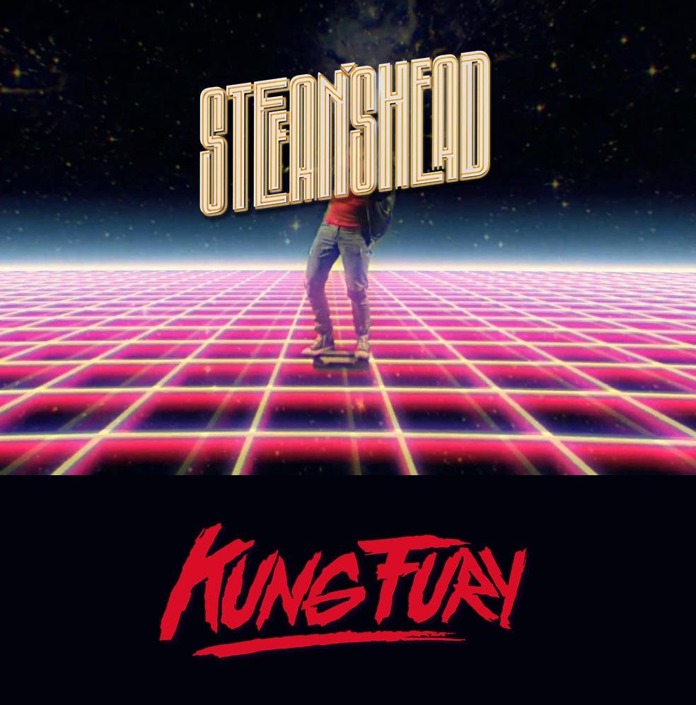 Stefan's Head - Logo - Kung Fury