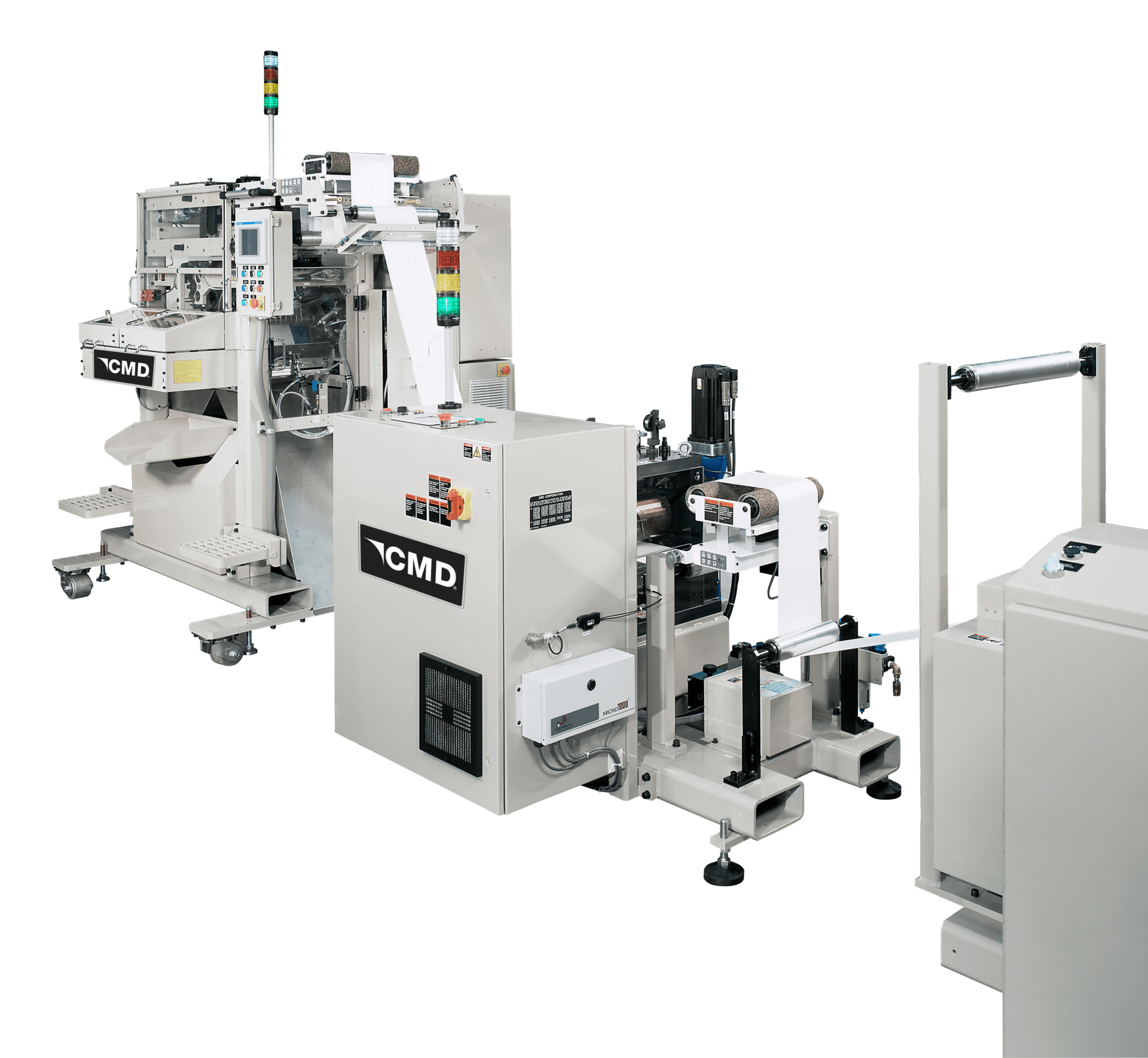 CMD rotary die cutter for plastic bags