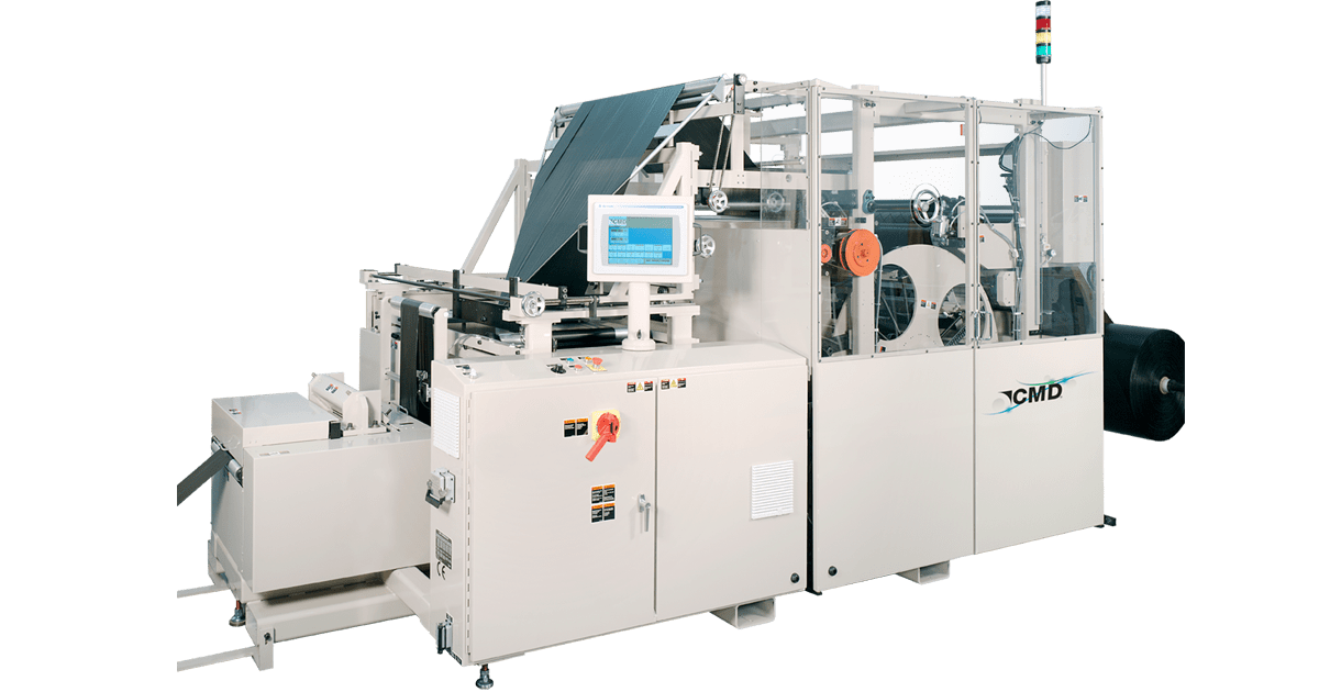 The Robust 1270GBM Bag Machine with Enlarged Drum for Special Blends and Heavy Gauge Films