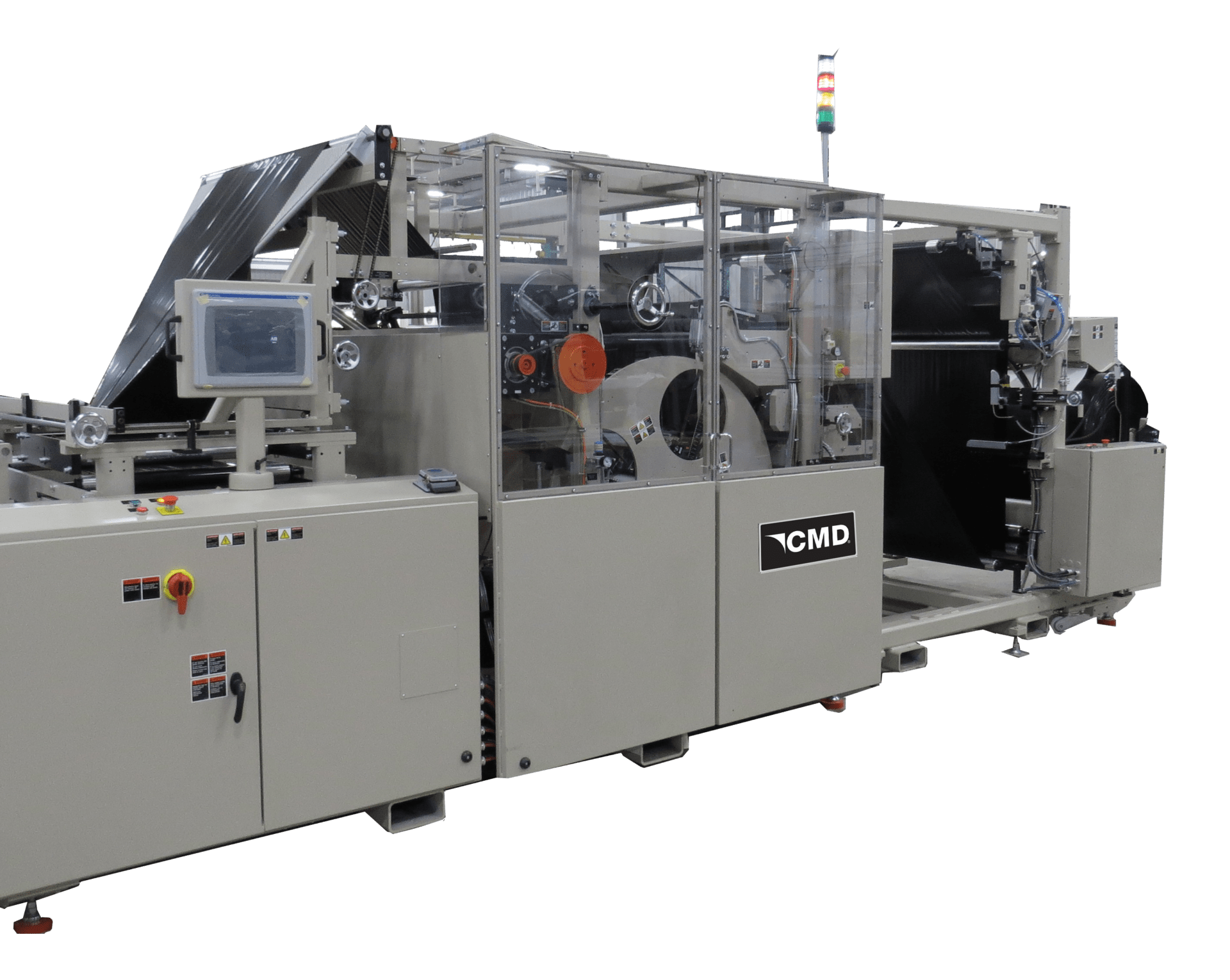 Model 1270GBM Global Bag Machine offers rotary sealing for high-output production
