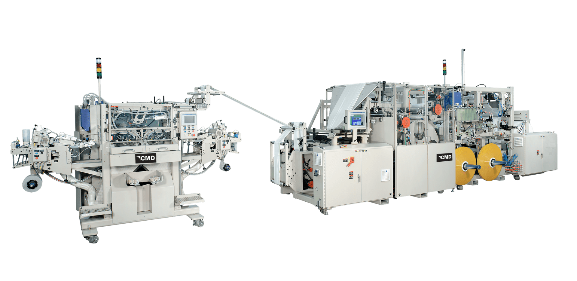 Drawtape bagmaking system with high-cycle winder
