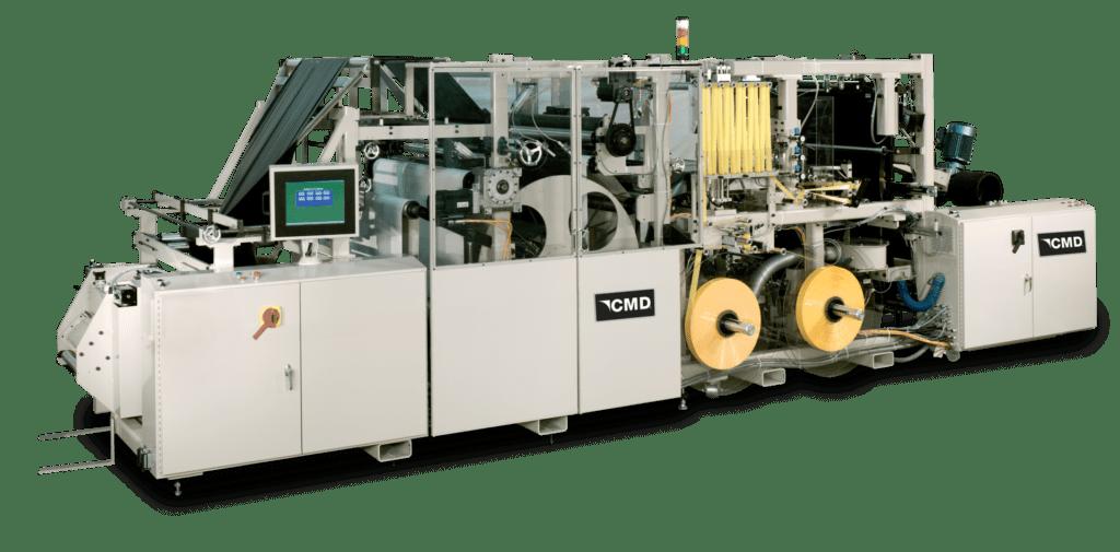 World Leading System for making drawtape trash bags