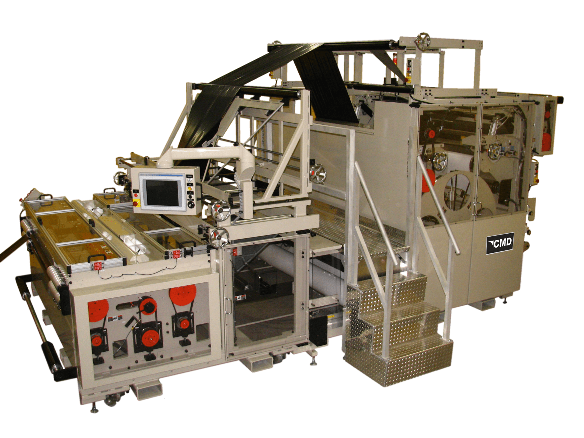 Model 2159GBM Global Bag Machine is offered in a wide width for multiple-lane converting